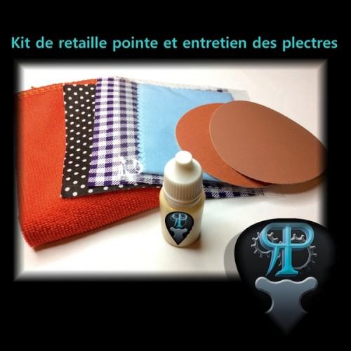 Kit de retaille et entretien des plectres