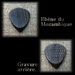 1X Ébène Mozambique 3 modèles au choix