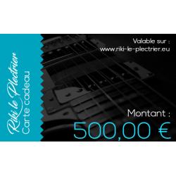 Carte Cadeau-500