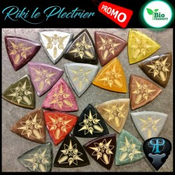 1X Plektrum 3 spitz / Galalith