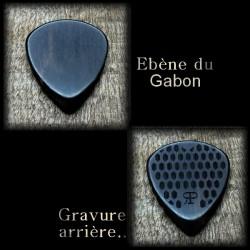 1X Ébène noir du Gabon / 3 modèles au choix