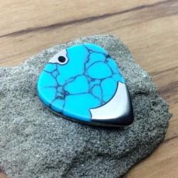 """San / Titanium  / Trustone """"Arizona Turquoise"""""""