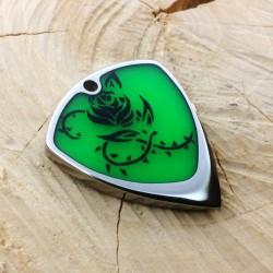 Jazz XL / Titanium / Flashy green